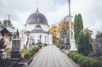 eufrosijos cerkve ir kapines
