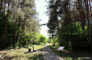 Antakalnio skulptūrų-suoliukų parkas 5