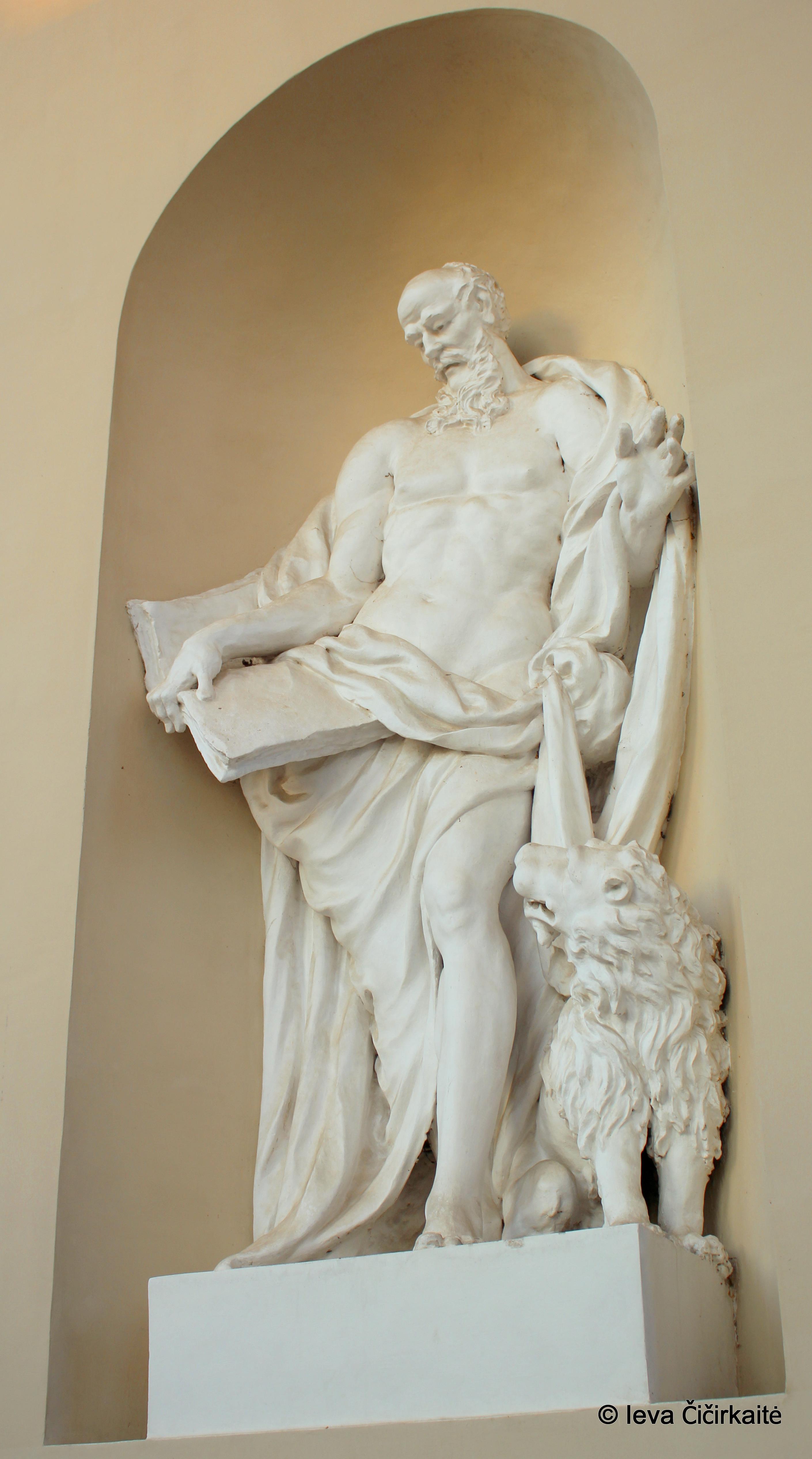 Izraelietė atsitiktinai aptiko du romėnų laikų biustus
